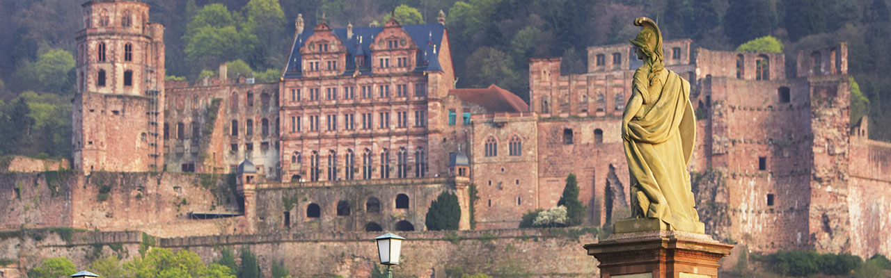 Heidelberg Castle at Germany