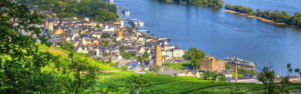 Rüdesheim am Rhein in Germany