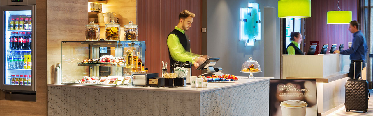 To Go Cafe from Holiday Inn Frankfurt Airport, Germany