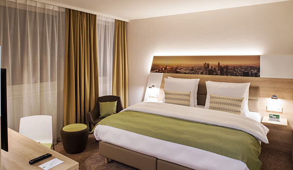 Executive King Bed at Holiday Inn Frankfurt Airport, Germany